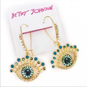 Betsey Johnson Earrings nwot
